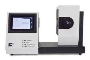CS-700 Touch Screen Display Color and haze meter- compliance with: Standards ASTM D 1003, D 1044, ISO 13468, 14782