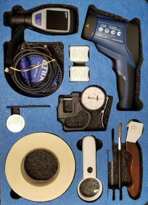 Protective Coatings Inspection Kit 2 Basic Dual 50 mils