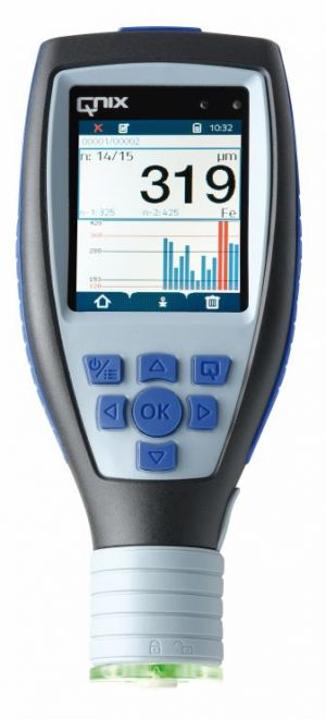 QNix® 9500 B integral probe -Fe/Nfe 50 mils Paint Thickness Gauge | Paint Meter | Dry Film Gauge