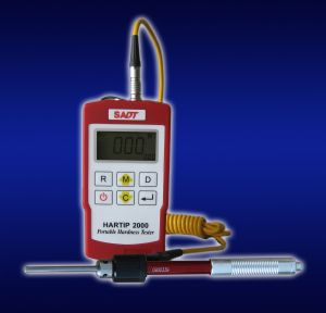 Hardness tester HARTIP 2000 D&DL 2-in-1 probe with standard packag -Dual Value Display by SADT