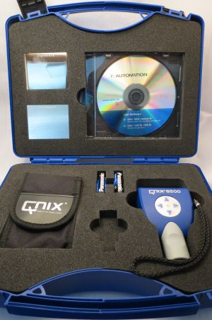 Automation Dr. Nix Coating Thickness Gauge QNix® 8500 Premium w/ NFe probe 0- 80 mils and Extension Cable, Software, USB wireless adaptor