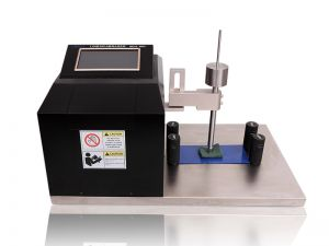 Linear Abrasion Tester BEVS 2803-Touch Screen: Rubbing Cycles:0-9999 (Adjustable) Speed:20-99 cycles/min (Adjustable) Rubbing Distance:10-50mm Test Platform:350*400mm