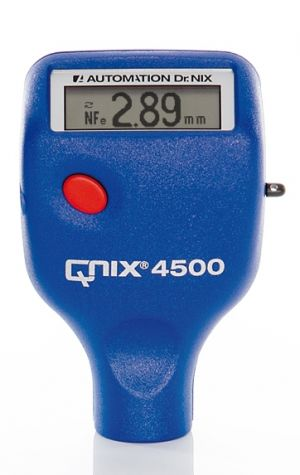 QNix® 4500 int. Fe/NFe probe 200/120 mils Paint Thickness Gauge | Paint Meter | Dry Film Gauge